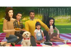 The Sims 4 Family Pose Pack 2 Sims 4 Game Mods, Sims Mods, Sims 4 Cas, Sims Cc, Sims 4 Photography, Sims 4 Family, Toddler Poses, Sims 4 Children, Sims 4 Gameplay
