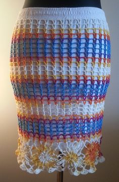 CROCHET HAND MADE SKIRT