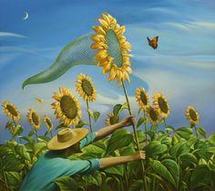 Vladimir Kush. Surrealist Artist. Painting. Modern Contemporary Art. Surrealism.