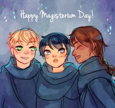 it's Magisterium day, yay!