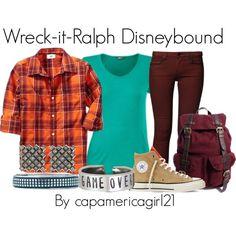 Wreck-it-Ralph Disneybound by capamericagirl21