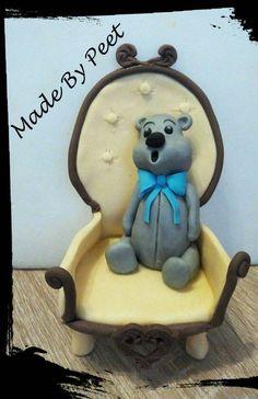 Bear in Chair Tutorial - CakesDecor