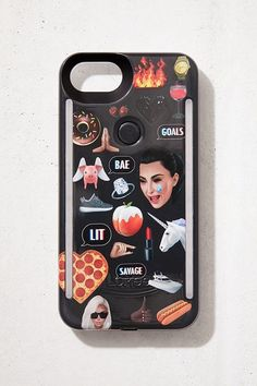 LuMee Duo Kimoji Collage iPhone 8 7 6 Case ab2956a83d