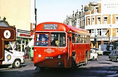 from Hounslow Garage in King Street Twickenham on Route 202 Routemaster, St Margaret, Red Bus, Bus Coach, London Bus, London Transport, Diesel Locomotive, London Photos, Historical Photos
