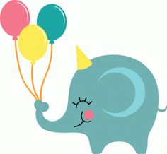 Silhouette Design Store - View Design elephant with balloons Elephant Love, Elephant Nursery, Cute Quilts, Baby Quilts, Felt Crafts Diy, Kids Crafts, Elephant Applique, Baby Clip Art, Baby Burp Cloths