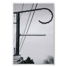 Alphabet Letter Photography F1 Photographic Print