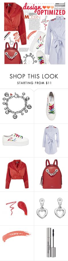 """""""Spring-Summer 17 (Plus Size Chic)"""" by foolsuk ❤ liked on Polyvore featuring GUESS, Steve Madden, Boohoo, Topshop, Fiorelli, Hot Diamonds and John Lewis"""