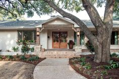 Image result for painted brich three bedroom ranch exteriors
