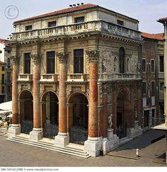 Italy, Veneto, Vicenza, Vicenza district, Loggia del Capitano (Palladio ...