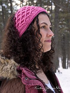Diamonds are a girls best friend, especially when they are keeping her warm! This crochet headband is double-layered and extra cozy. It's also adjustable, and can be made in a variety of lengths because of the way this design repeats.