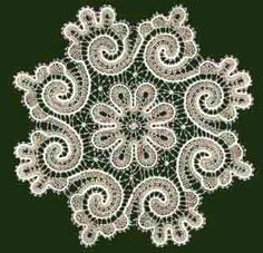 Lots of photos of Russian lace (and similar styles) mats, some prickings. Crochet Crafts, Crochet Doilies, Crochet Lace, Bobbin Lace Patterns, Doily Patterns, Fabric Stiffener, Bruges Lace, Lace Weave, Romanian Lace
