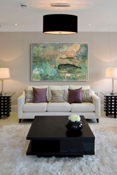 Oliver Gal The World Map, 1870, Fine Art Canvas - Beyond the Rack Home Living Room, Apartment Living, Living Room Decor, Living Spaces, Bedroom Decor, Cozy Apartment, Living Area, Master Bedroom, Wall Decor