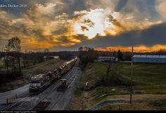 RailPictures.Net Photo: NS 7566 Norfolk Southern GE ES44DC at Lexington , North Carolina by Alex Decker