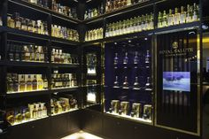 The Whisky Shop flagship store by gpstudio London 08