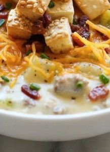 Cheeseburger Soup | Want-to-Share.com