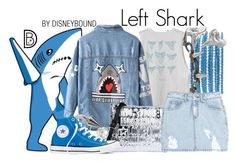 """Left Shark"" by leslieakay ❤ liked on Polyvore featuring Chan Luu, Joomi Lim, RVCA, Chicnova Fashion, Love Moschino, SJYP, Majorica, Converse, Reagan Charleston and Halloween"