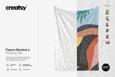 Fluffy Blanket Mockup Set 2 by on Fluffy Blankets, Fuzzy Blanket, Mockup Templates, Design Templates, Business Illustration, Graphic Design Studios, Blanket Sizes, Creative Sketches, Business Card Logo