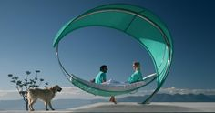 WAVE  Hammock  LEAVE YOUR TROUBLES BEHIND, and be overwhelmed by a wave of wellness, hovering halfway between heaven and earth, while simply doing nothing...