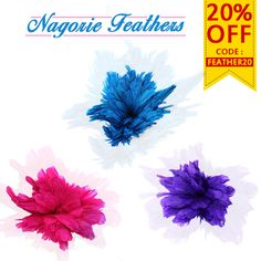 Firm and fluffy by presence, in vivid colours used in arts & crafts projects. These quills make great accents in on Vivid Colors, Colours, Feather Mask, Feathered Hairstyles, Arts And Crafts Projects, Floral Bouquets, Quilling, Feathers, Headbands
