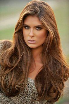 Light brown hair                                                       …