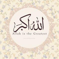 """""""Allahu Akbar"""" in Arabic and English"""