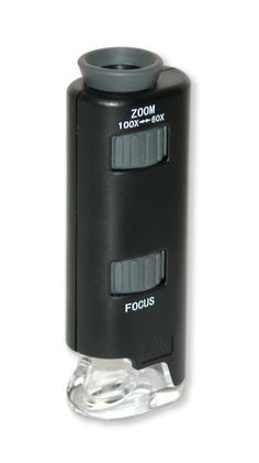 MicroMax LED 60x-100x Pocket Microscope - ScientificsOnline.com