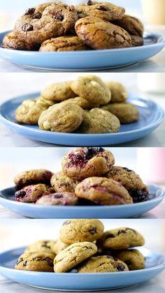 ¡Será difícil elegir tu preferido entre estos 4 sabores para tus cookies!