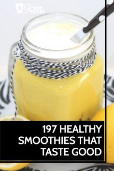 You won't believe these smoothie recipes are both healthy and extremely tasty. In fact, they taste so good, you could even replace your dessert with them.