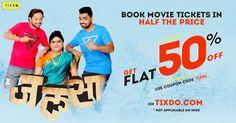 प्रेम आणि अमर ची वेगळी अशी कहाणी #Jalsa लवकरच सिनेमा गृहात! Book your tix https://goo.gl/uRjbZw  & avail #FLAT50% #DISCOUNT  #manasinaik0302