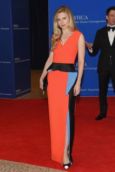 Brit Marling at the White House Press Correspondents' Dinner.