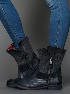 Free People Cooper Zip Boot,  size 36 $49.95