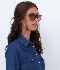 5244ce450a0af Óculos de Sol Feminino Redondo - Lojas Renner
