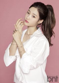 Article: Lost weight and became & second Suzy& Jung Chaeyeon, she has it all Source: TV Report via Nate Sh. Fashion Mag, Korean Fashion, Chaeyeon Dia, Jung Chaeyeon, Help Me Lose Weight, Attractive People, Korean Music, Celebs, Celebrities