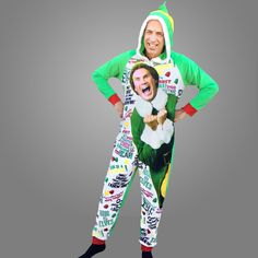 buddy-the-elf-graphic-union-suit-one-piece-pajamas