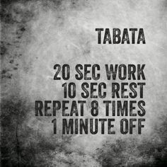 50 Best tabata tuesday images in 2018 | Tabata, Fitness, Hiit
