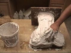 Moldmaking and casting: Hydrocal Plaster Mother Mold Process Plaster Sculpture, Concrete Sculpture, Plaster Art, Plaster Molds, Sculpture Clay, Sculpture Painting, Ceramic Techniques, Pottery Techniques, Selling Crafts Online