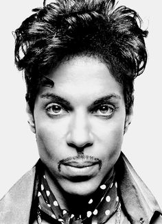 """""So I said to Prince: 'What is the answer to a successful life?' and he put his arm around me and took me aside,"" recalls New York based, London-raised photographer Platon Antoniou of a portrait. Black And White Portraits, Black And White Photography, Roger Nelson, Prince Rogers Nelson, Celebrity Portraits, Music Icon, Purple Rain, Look At You, Famous Faces"