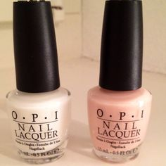 OPI New York City Ballet Collection  Left - Don't Touch My TuTu! Right - Barre My Soul.  Polish name love!!!!  On my list!