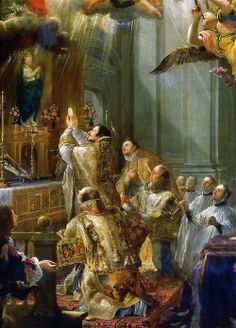 Juan Carreño de Miranda - The Mass of Saint John of Matha