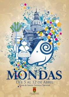 cartel ganador del concurso de carteles para Mondas 2015
