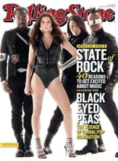 Blastoff With the Black Eyed Peas for Rolling Stone Magazine trendhunter.com