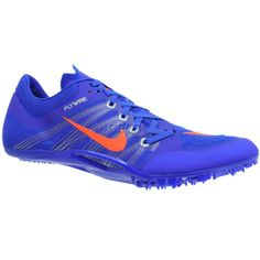 ce9bd0947ef38 New NIKE Zoom JA Fly 2 Mens Track   Field Spikes Sprint Shoes - Blue