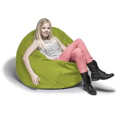 Snuggle up and get cozy as you sink into the supportive comfort of the Jaxx Cocoon Bean Bag Chair. Filled with shredded memory foam and covered in durable Microsuede, this lounger provides comfy seating no matter what room you put it in. Small Bean Bags, Small Bean Bag Chairs, Cool Bean Bags, Kids Bean Bags, Bean Bag Lounger, Bean Bag Sofa, Junior Kids, Bean Bag Furniture, Classic Bean Bags