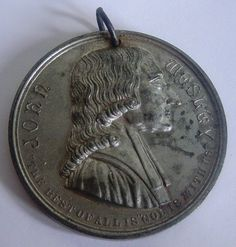 John Wesley, Commemorative Coins, Sunday School, Ephemera, Personalized Items, Books, Ebay, Libros, Book