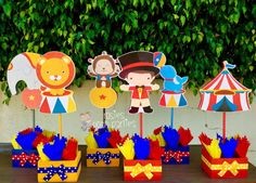 Carnival Circus Birthday Centerpieces Circus Carnival Baby Shower Guests Circus Carnival Party Decor Centerpieces birthday PRICE PER PIECE Carnival Baby Showers, Circus Carnival Party, Circus Theme Party, Carnival Birthday Parties, Circus Birthday, Circus Tents, Diy Carnival, Circus Baby, Baby Birthday