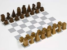 Image of Bauhaus Model I 1922 Chess Set - Thingiverse