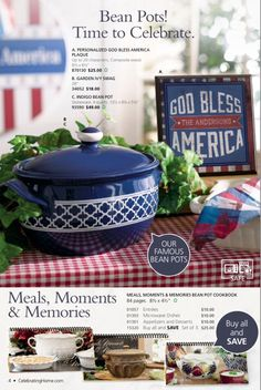 Check out this gorgeous Beanpot!!! Available May 1st!! Shop directly at AmyZook.mycelebratinghome.com