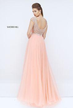 Sherri Hill 50187   Fashionable Clothes   Pinterest   Gorgeous prom dresses,  Blush prom and Prom
