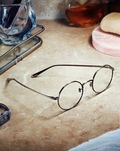 'After Midnight' Oliver Peoples #TheRow (Antique Gold with Clear Photochromic lenses)