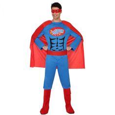 Disfraz Héroe de Cómic Hombre - Comprar Online  Miles de Fiestas  41c5021fcc4